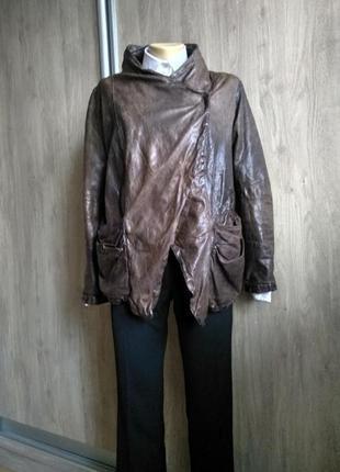 Giorgio brato кожаная куртка косуха пиджак