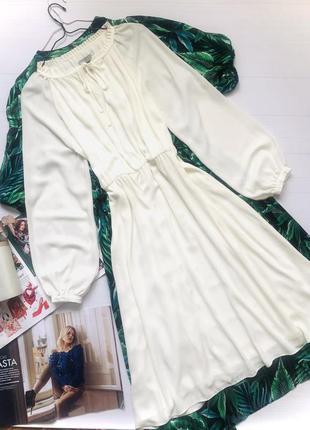 Платье миди большого размера