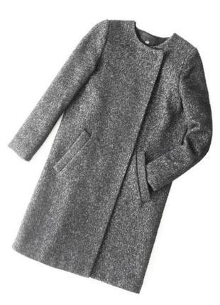 Дизайнерское стильное пальто от h&m,