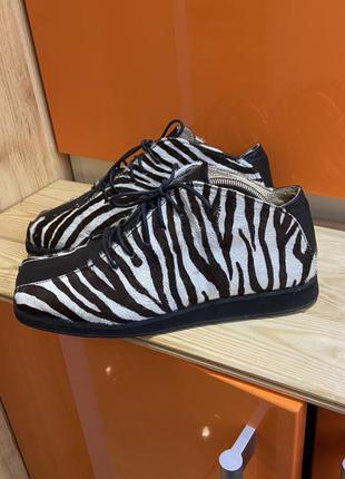 Ботинки 38 размер ботиночки кожа дизайнерские ручная работа