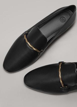 Лоферы, туфли от massimo dutti
