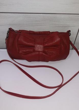Кожаная сумочка, клатч (натуральная кожа, шкіра)