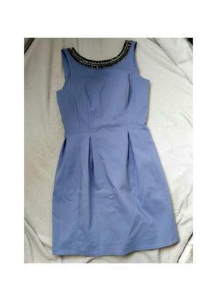 Плотное платье тюльпан