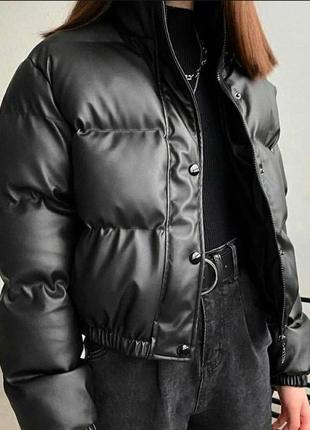 "Куртка, кожаная куртка, куртка ""зефирка"""
