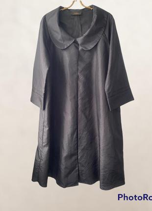 Мантия накидка плащ балахон винтаж чёрная хеллоуин