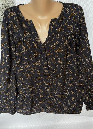 Красивая натуральная рубашка 100% вискоза