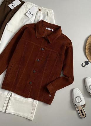 Трендовая джинсовая / вельветовая куртка joy of life