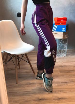 Adidas оригинальные спортивные штаны спортивки адидас нейлоновые из новых коллекций