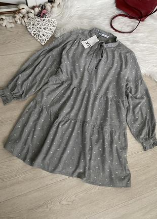 Свободное платье от zara