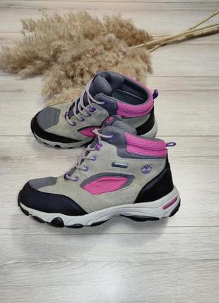 Высокие кроссовки ботинки на мембране timberland gore tex p 37.5