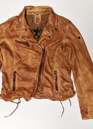 Gipsy кожаная куртка кожанка косуха