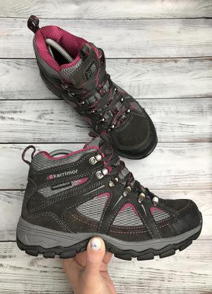 Оригінальні замшеві черевики karrimor waterproof