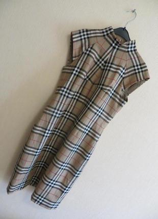 Шерстяное платье burberry (р.м)