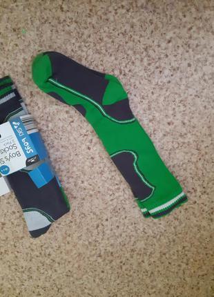 Теплые фирменные носки
