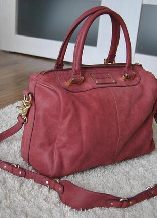 Кожаная сумка fredsbruder / шкіряна сумка
