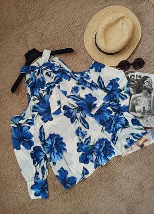 Шикарная блузка с бантом и открытыми плечами/блуза/кофточка/рубашка