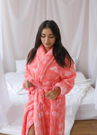 Длинный халат без капюшона  турция, nicoletta
