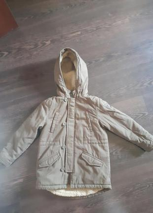 Фирменная куртка парка