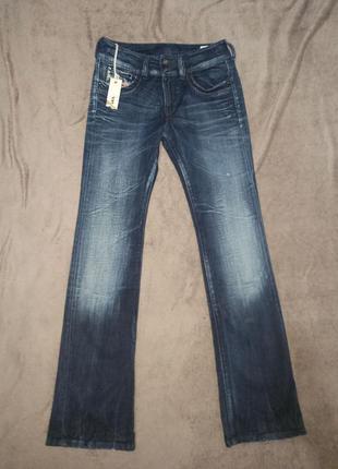 Женские стрейчевые джинсы клёш