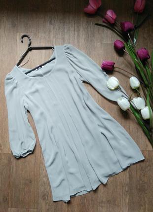 Шифоновое платье new look размер s-m