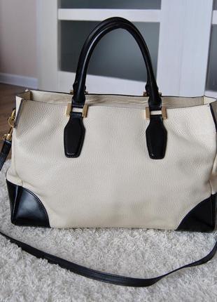 Кожаная сумка bata / шкіряна сумка