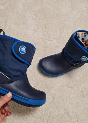 Демисезонные ботинки crocs, деми ботинки crocs, сапоги crocs