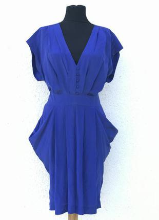 Платье из стопроцентного шелка. нарядное