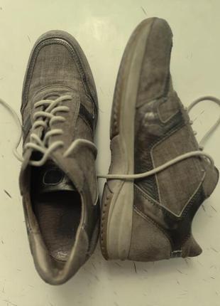 Туфли, кросовки из холщовки , 36-37