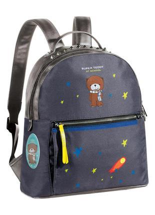 Рюкзак teddy, цвет чёрный, арт.11858