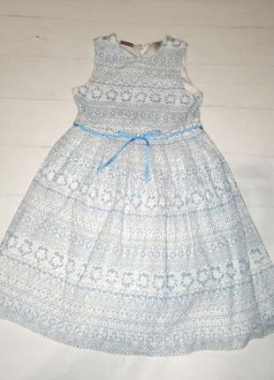 Красивое платье blue beri boulevard
