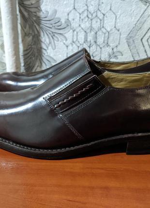 Стильные лакированые туфли