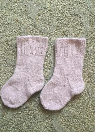 Носки шерстяные ангора ангорка 18-24 мес