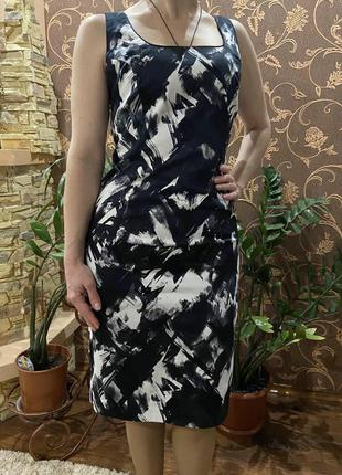 Платье футляр, черное платье, сарафан от debenhams