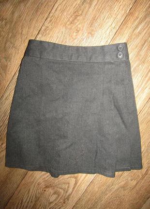 Серая юбка на 5-6 лет schod
