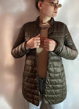 🍁🧥пуховое пальто-курточка