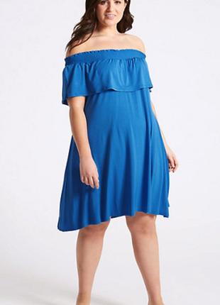 Новое трикотажное платье 24/58-60 размера