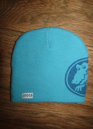 Двойная шапка 5-7 лет бренд crocs