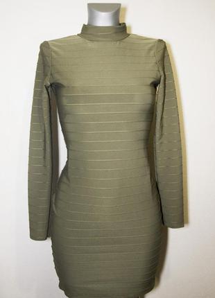 Элегантное платье с открытой спиной missguided uk 8,s-m3 фото
