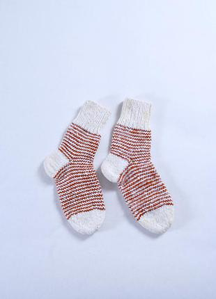 Теплые пуховые носки handmade размер 39