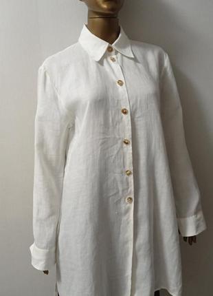 Рубашка, туника лён