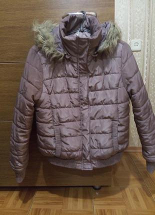 Куртка теплая.подойдет и для небольших морозов
