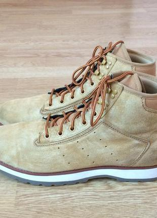 Замшевые ботинки adidas оригинал 45,5 размера в отличном состоянии
