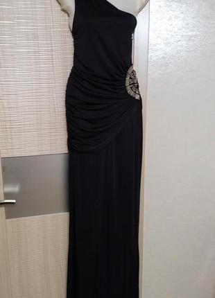 Акция 1+1=3🤩🤑элегантное вечернее платье в пол с оборками эластичное длинное на плечо