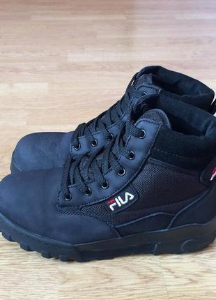 Кожаные ботинки fila оригинал 37 размера в отличном состоянии