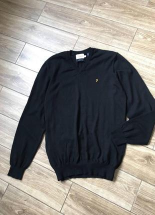 Черный свитер, итальянский трикотаж, отличное состояние
