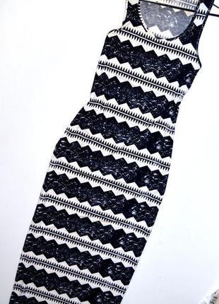 Sale topshop. трикотажное макси платье с принтом
