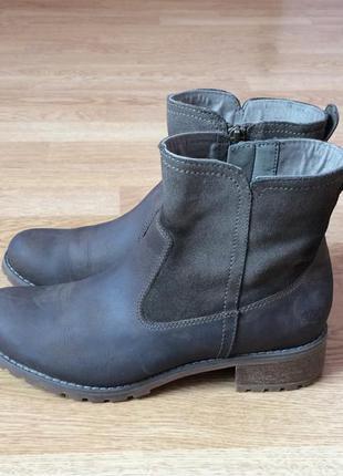 Кожаные ботинки timberland оригинал 38 размера в отличном состоянии
