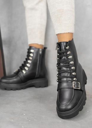 Натуральная кожа 🙂 ботинки зимние 36-41р