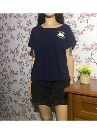 Домашняя пижамная футболка для сна