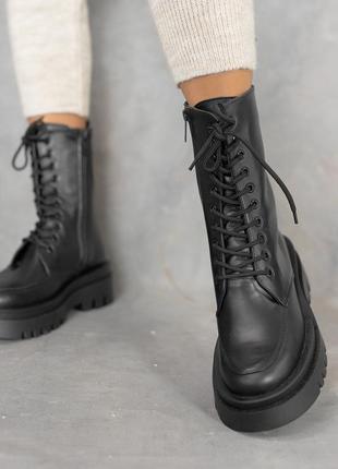 В наличии натуральная кожа 🙂 ботинки зимние берци 36-41р
